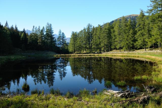 Campodolcino il laghetto di gualdera for Laghetto artificiale